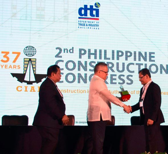 First Balfour Construction Industry Award