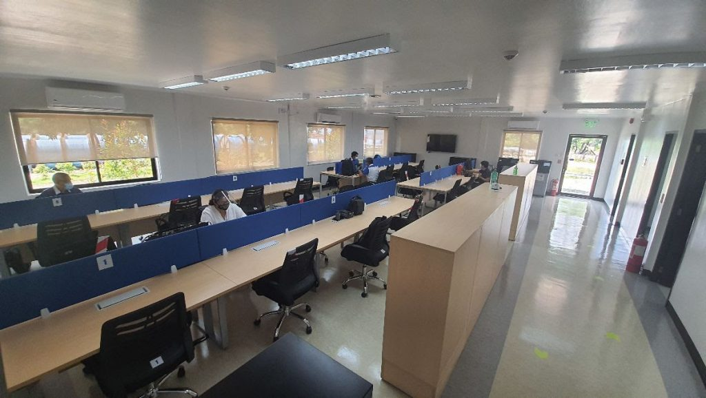 First Balfour East Metro Manila Office Interior