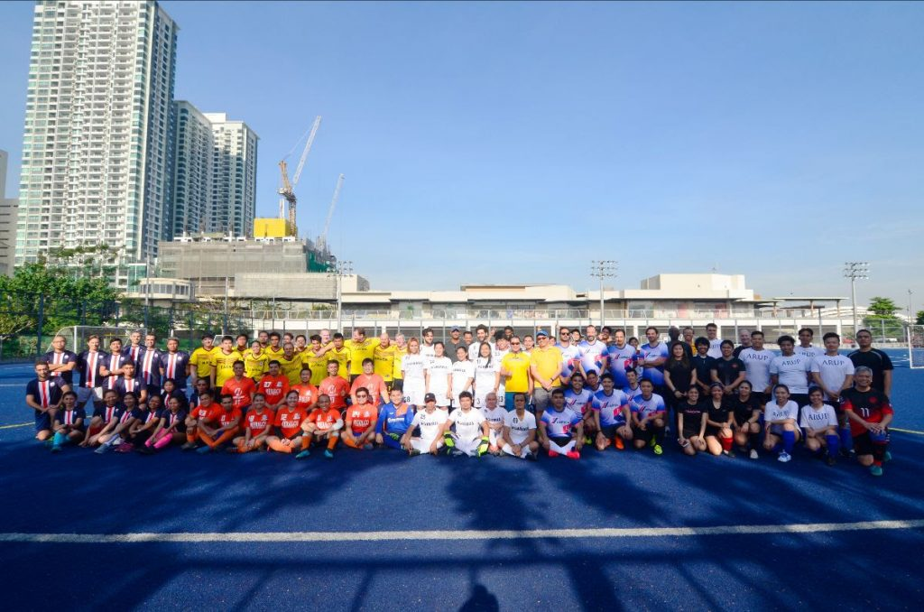 Eight teams from First Balfour's pool of clients, partners, and suppliers competed in the second run of its Invitational Football Tournament last Saturday, 7 March 2020, at the Blue Pitch in Circuit Makati.