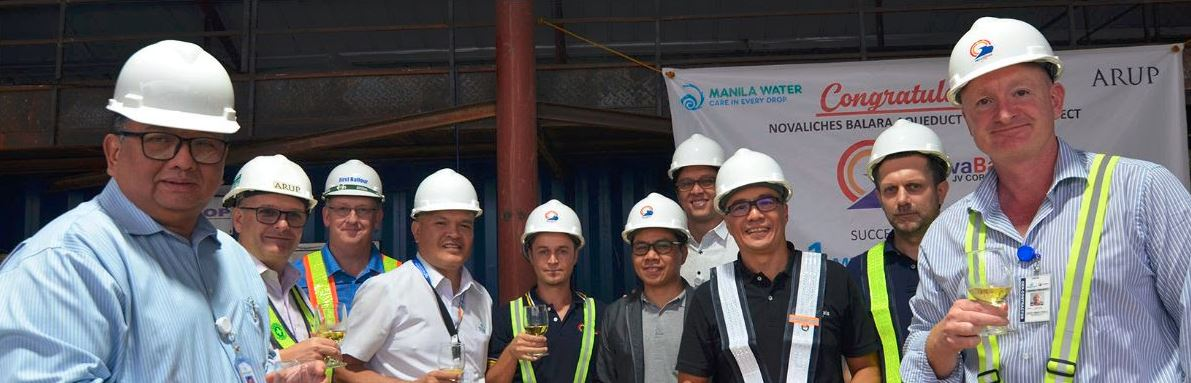 Manila Water and NBAQ4 team photo