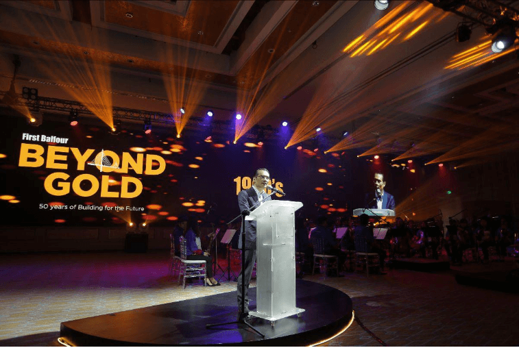 The keynote address was delivered by First Philippine Holdings Chairman Federico R. Lopez