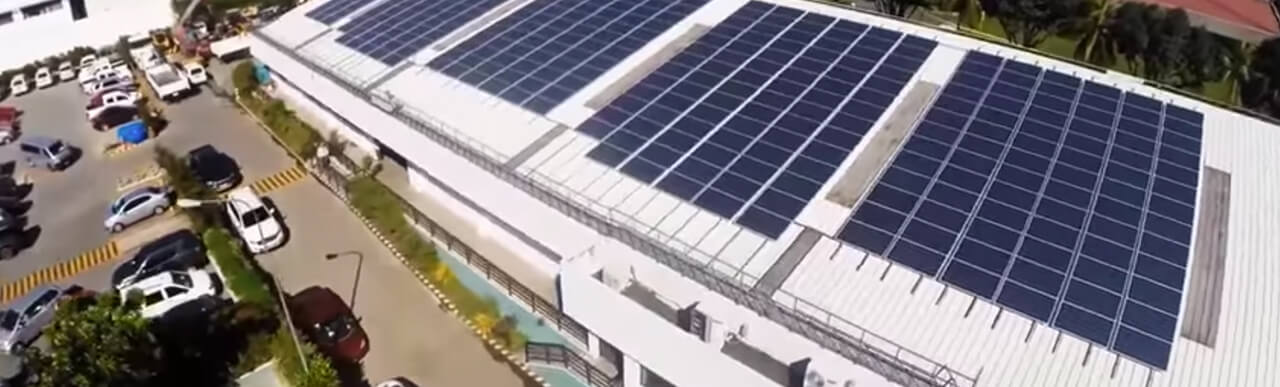 First Balfour Sucat head office solar rooftop