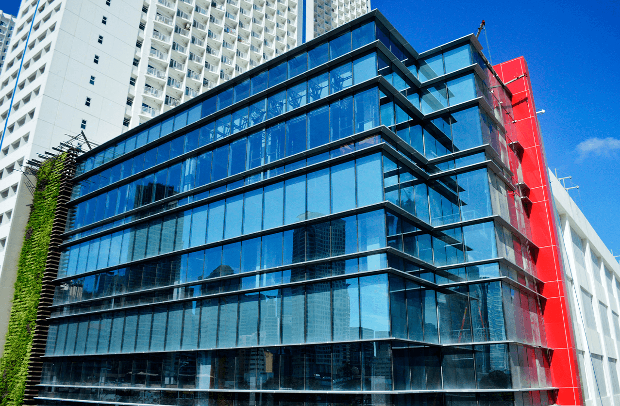 First Balfour completed projects - ePLDT Makati data center